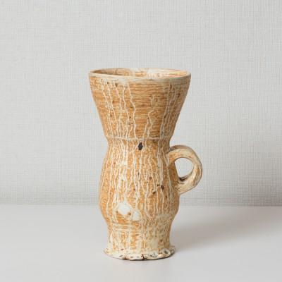 Jar with snail shell glaze
