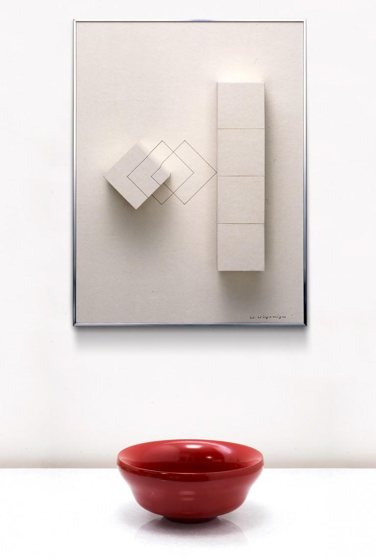 Kyubei Kiyomizu  -Wood, Japanese Paper, Laquerー