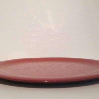 Red Lacquer Flat Tray