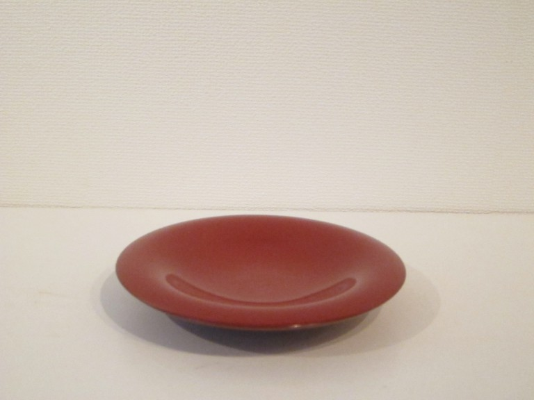 Red Lacquer Small Plate